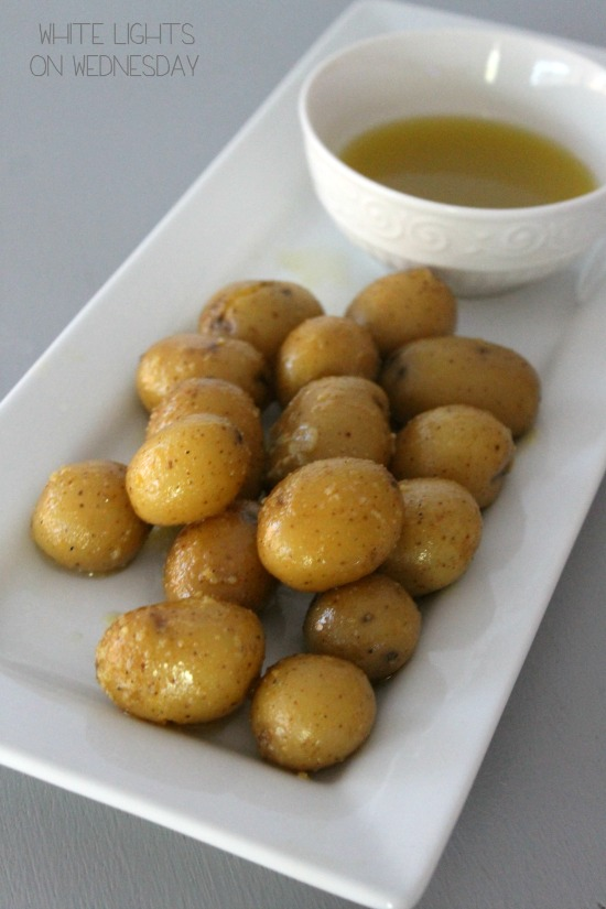 Baby Potatoes in Aioli  #GYCOcookingchallenge