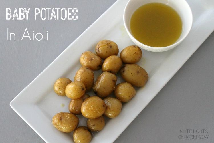 Baby Potatoes in Aioli  #GYCOcookingchallenge
