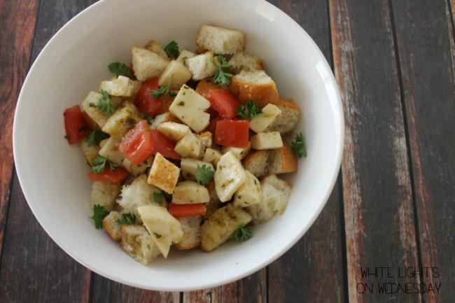 Caprese Panzanella Salad 1