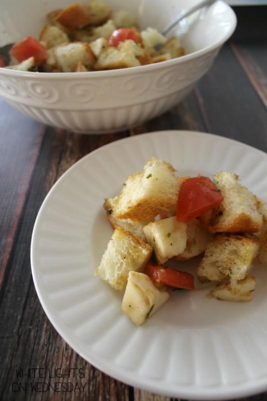 Caprese Panzanella Salad 3