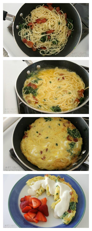 How to Make a Frittata Carbonara   #NewTraDish