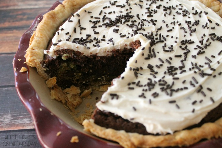 Irish Capookie - when a pie cake, pie, and cookie have a love child.