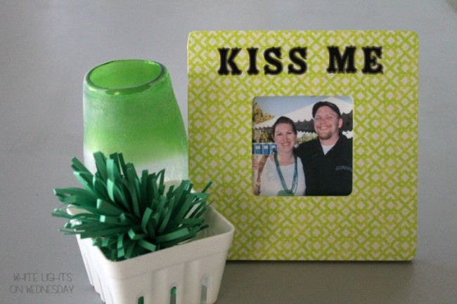 Washi Tape Kiss Me Picture Frame 12