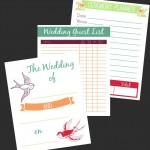 Free Wedding Planning Printables