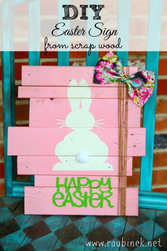 DIY-Easter-bunny-Sign-