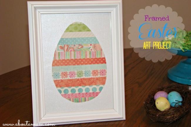 Framed-Easter-Art-Project
