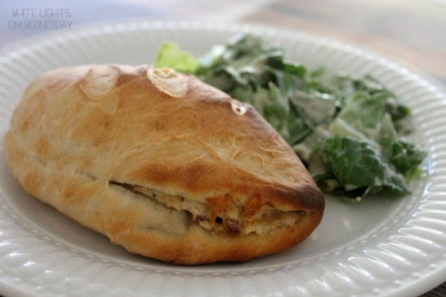 Hatch Chile Popper Calzones  #15MinuteSuppers