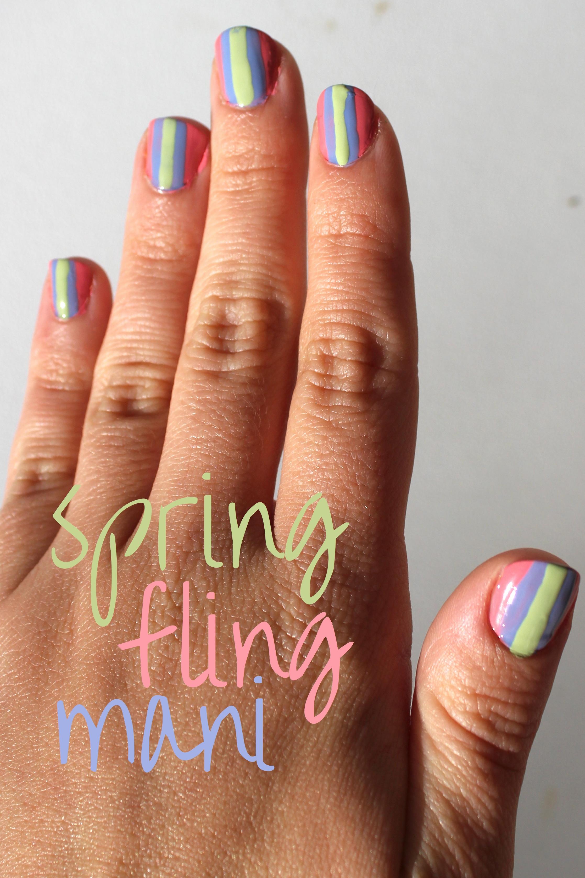 Spring Fling Mani