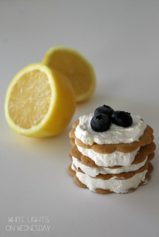 Lemon Icebox Cupcakes