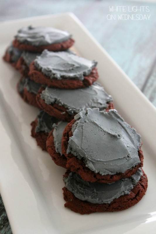 Red Velvet Cookies  #blogfoodfilm