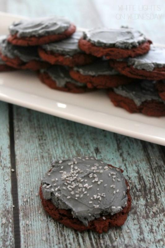 Red Velvet Cookies  #blogfoodfilm