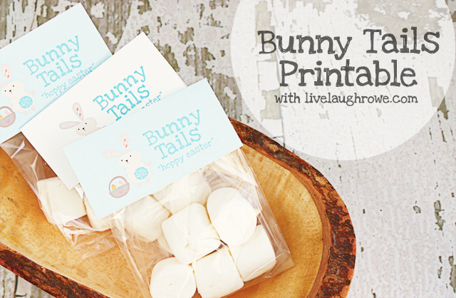 bunny tail printable