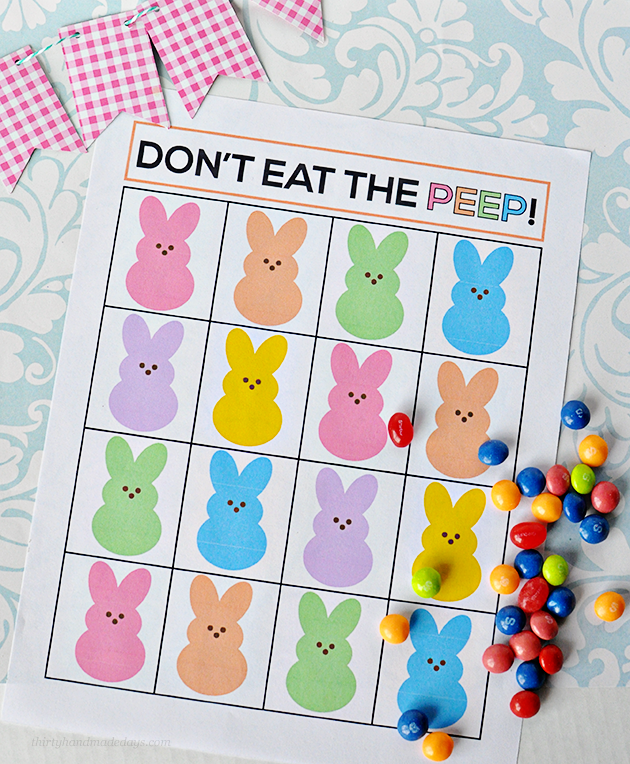 don't eat the peep