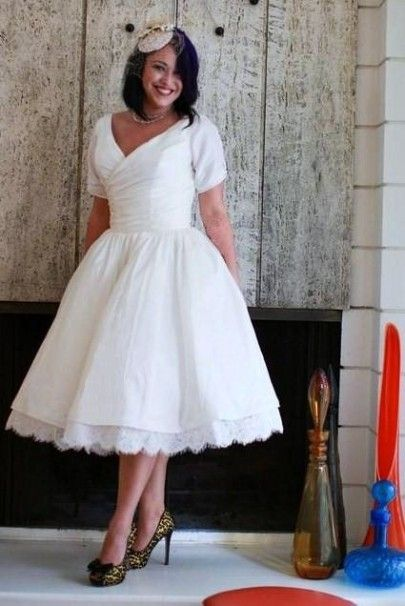 1a7c564414a Tea Length. 1. With Only a Wink Dress in Ivory from ModCloth. MY LATEST  VIDEOS. 3