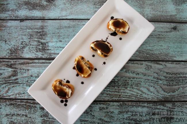 Balsamic Pear & Bleu Cheese Bruschetta 3