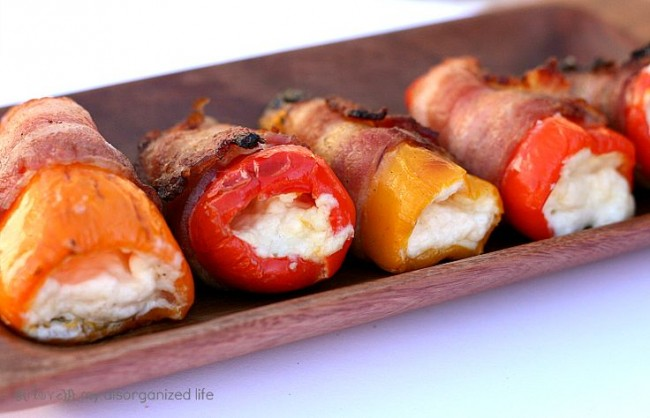 Blue Cheese Pepper Poppers
