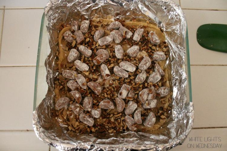 Caramel Pecan Blondies 3