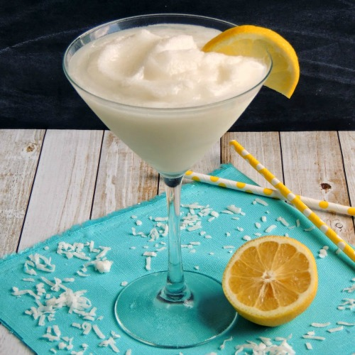 Frozen Coconut Lemonade