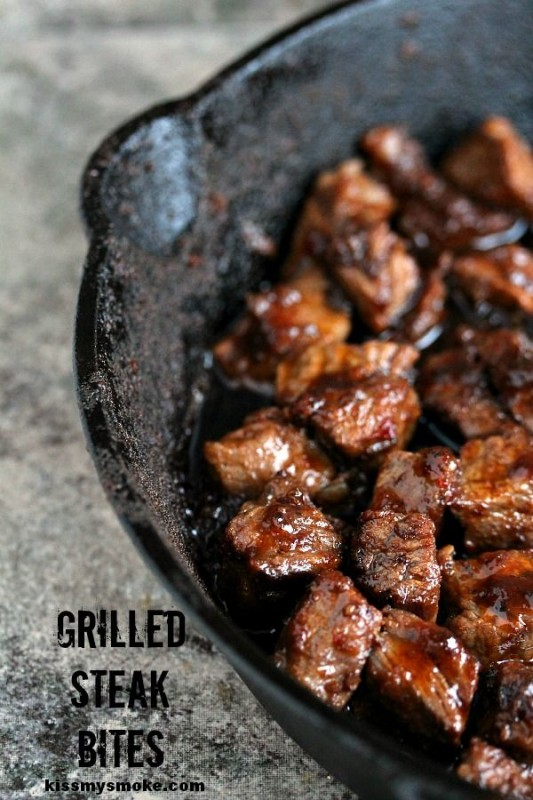 Grilled Steak Bites
