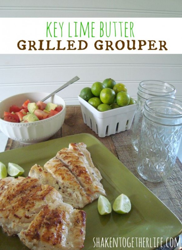 Key Lime Butter Grilled Grouper