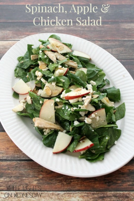 Spinach, Apple & Chicken Salad 2.1