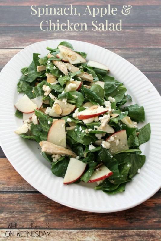 Spinach, Apple & Chicken Salad 2.1