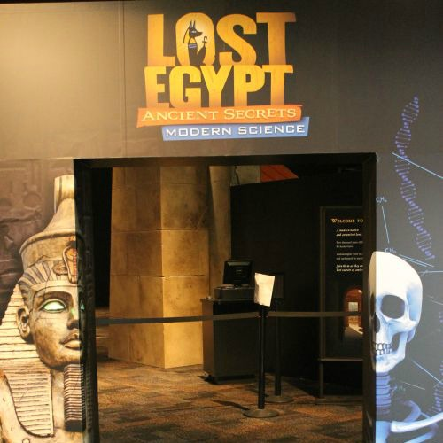 Lost Egypt at the Arizona Science Center