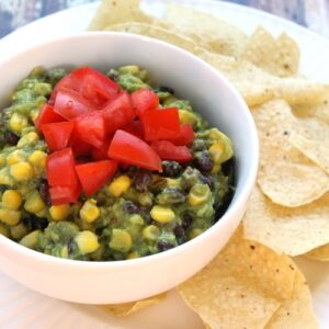 Black Bean & Corn Guacamole FEAT