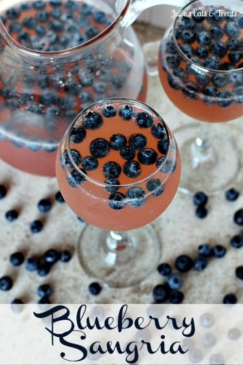 Blueberry Sangria