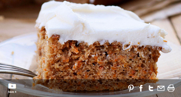 Carrot Cake from #MyFlavorPrint