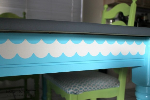 DIY Stenciled Table 10