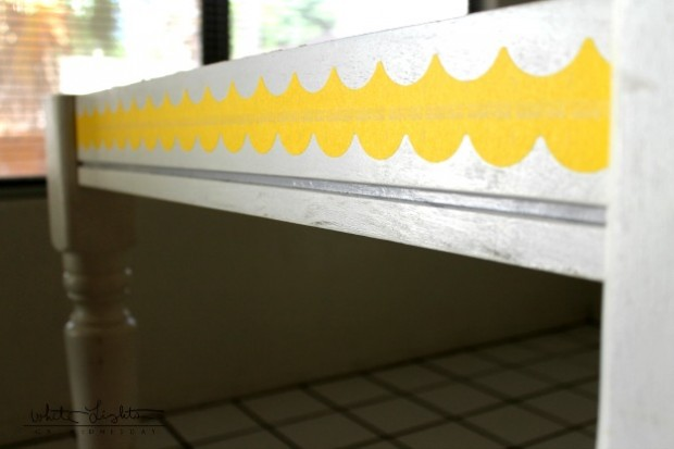 DIY Stenciled Table 6