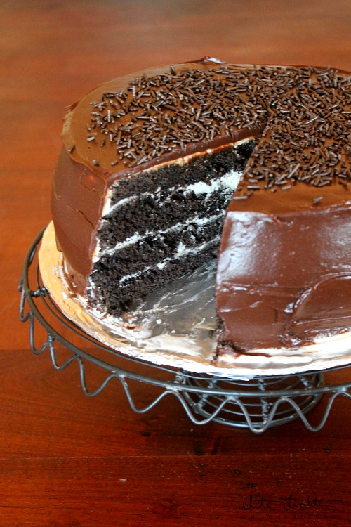 Four-Layer Chocolate Cake 2