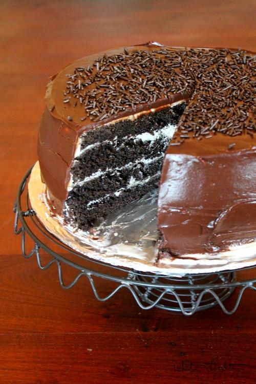 Four-Layer Chocolate Cake 2