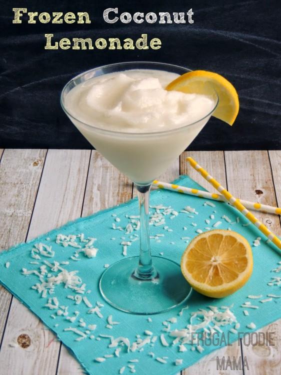 Frozen Coconut Lemonad