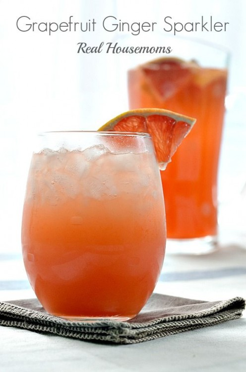 Grapefruit Ginger Sparkler