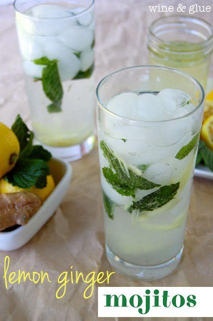 Lemon Ginger Mojito