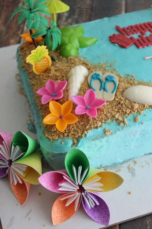 Triple Pineapple Luau Cake contributor Julie This Silly Girls Life