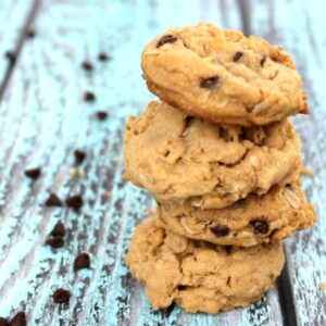 Peanut Butter Oatmeal Cookies FEAT