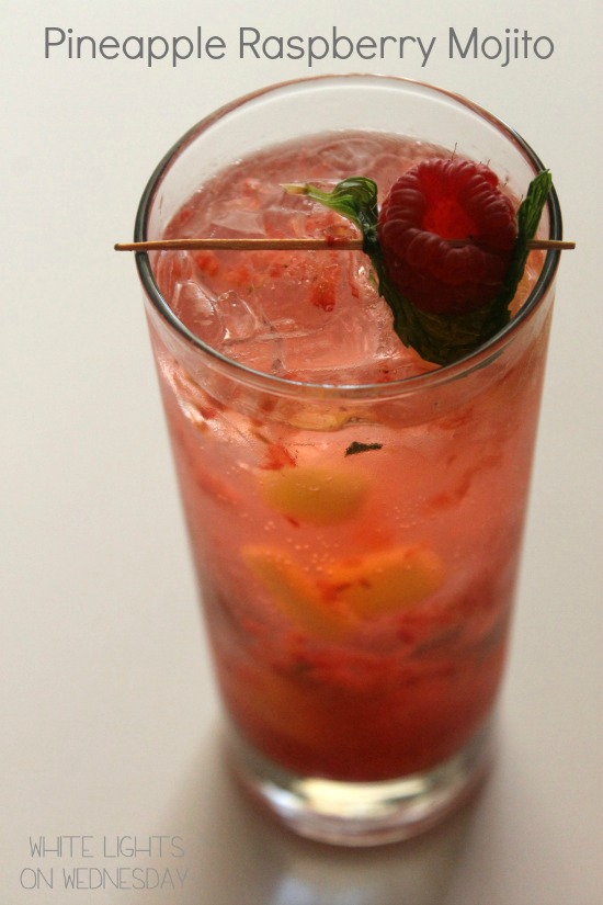 Pineapple Raspberry Mojito 2