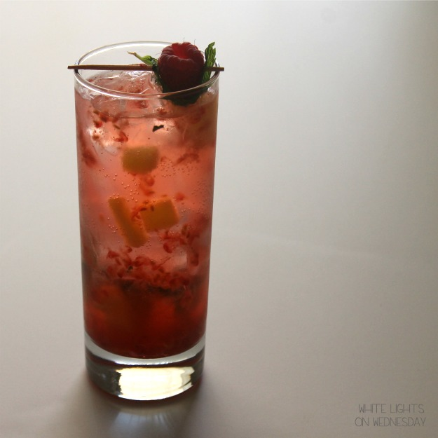 Raspberry Pineapple Mojito