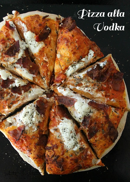 Pizza alla Vodka | White Lights on Wednesday