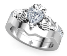 Ring - Claddagh Set