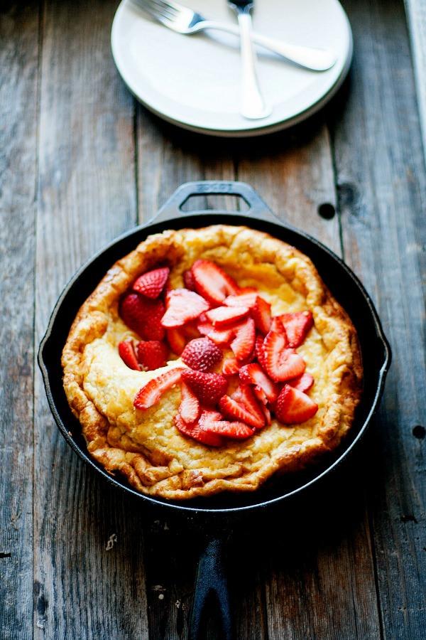 Baked Skillet Pancake