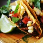 Baked Blackened Chicken Tacos with Southwest Relish