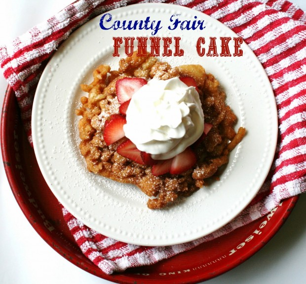 County Fair Funnal Cakes