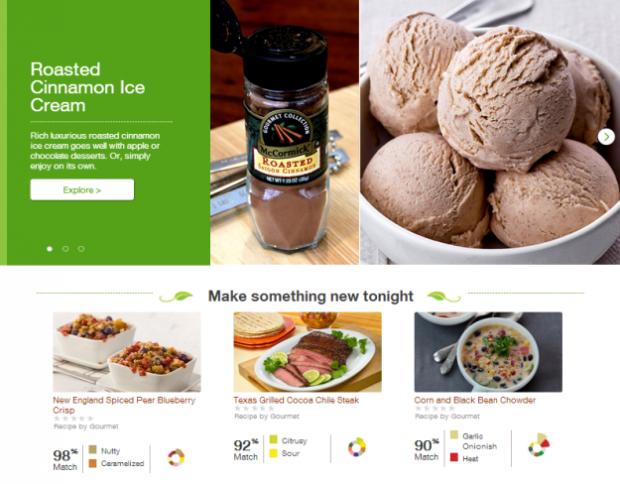 McCormick FlavorPrint Gourmet Recipes