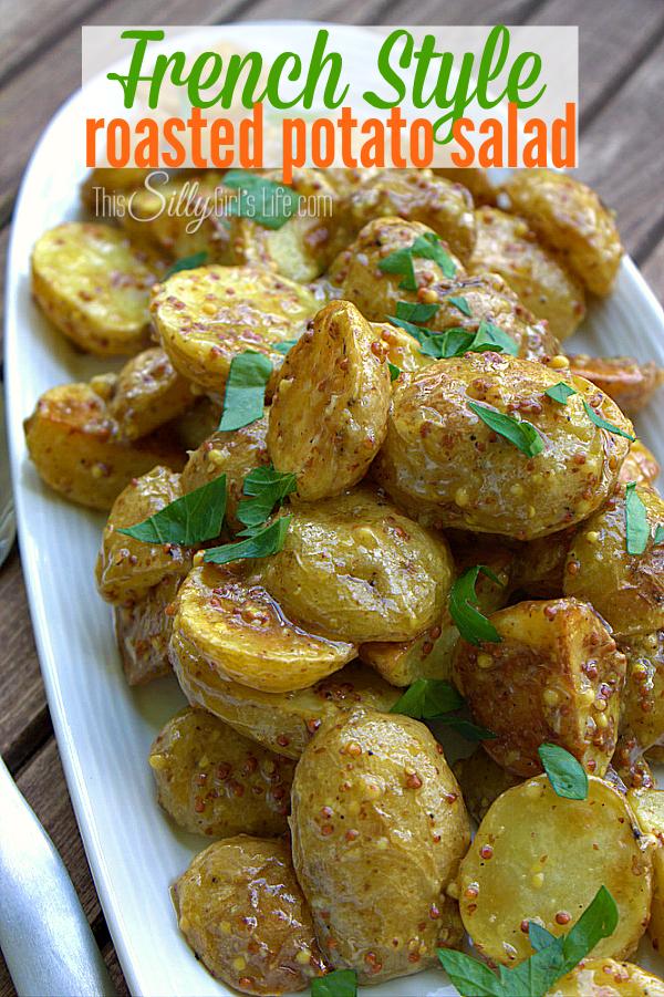 French Style Roasted Potato Salad