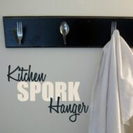 Kitchen Spork Hanger