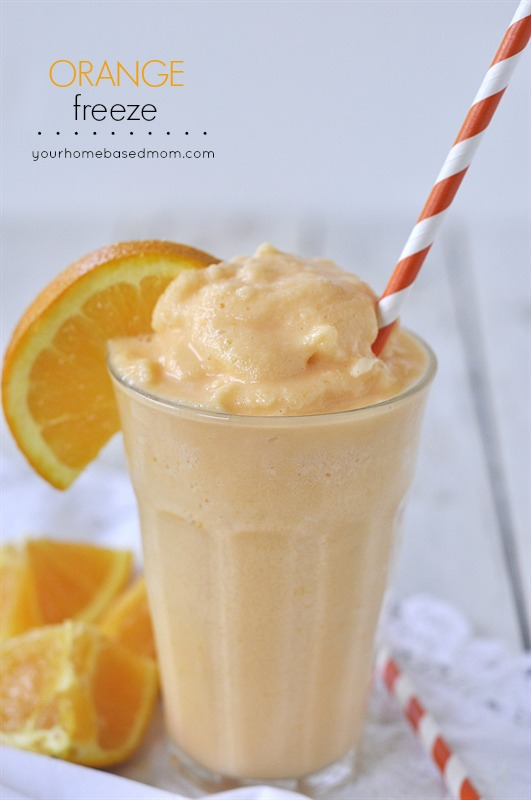 Orange Freeze | Your Homebased Mom